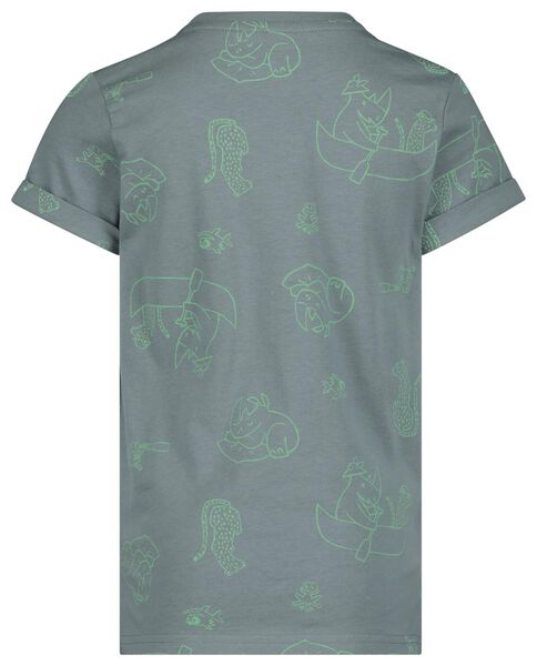 children's T-shirt green green - 1000019115 - hema