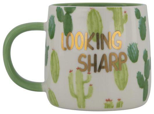 mug Ø 9 cm cactus - 61122302 - HEMA