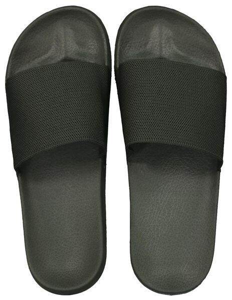 Herren-Sandalen graugrün graugrün - 1000022797 - HEMA