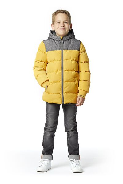 children's jacket yellow 98/104 - 30734031 - hema