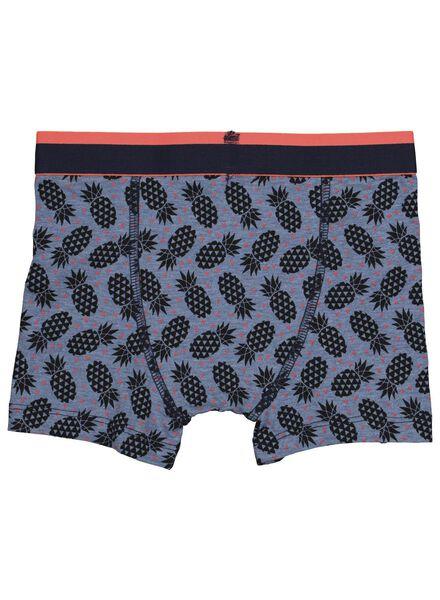 2-pack children's boxers dark blue dark blue - 1000016639 - hema