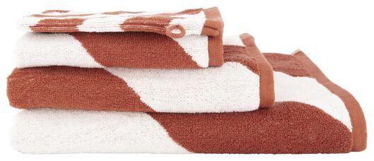serviette de bain - qualité épaisse terra terra - 1000018652 - HEMA