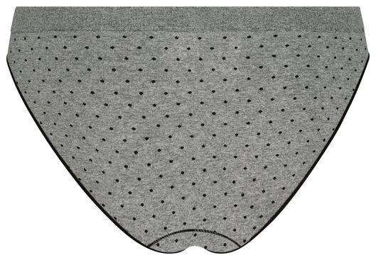 women's slip briefs seamless light grey light grey - 1000018641 - hema