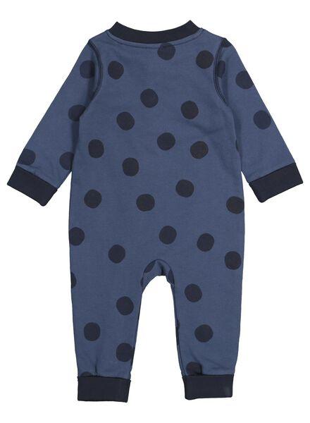 newborn baby jumpsuit blauw blauw - 1000015722 - HEMA