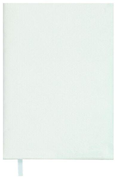 elastischer Buchschoner, Samt, mintgrün - 14590434 - HEMA
