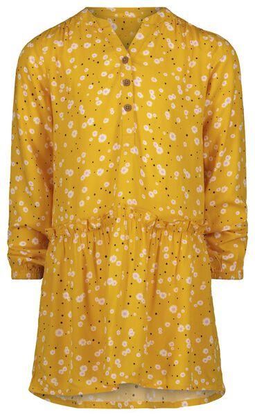 Kinder-Kleid, Blumen gelb gelb - 1000022414 - HEMA