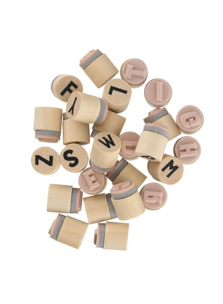 tampons alphabet - 25300523 - HEMA