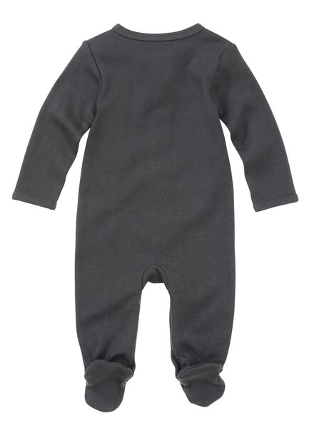 2-pack newborn jumpsuits organic cotton off-white off-white - 1000005708 - hema