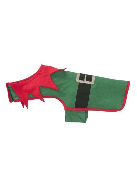 Hunde-Jumpsuit Elfe grün grün - 1000010706 - HEMA