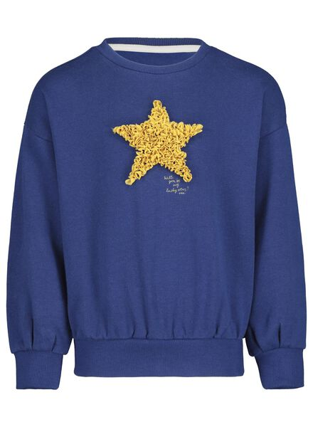 children's sweater blue blue - 1000017099 - hema