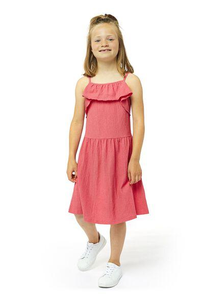 Kinder-Kleid rosa rosa - 1000019692 - HEMA