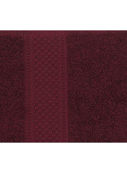 towel - 60 x 110 cm - heavy quality - bordeaux dark red towel 60 x 110 - 5220005 - hema