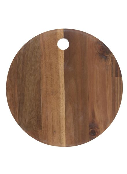 chopping board Ø 25 cm - 80810285 - hema