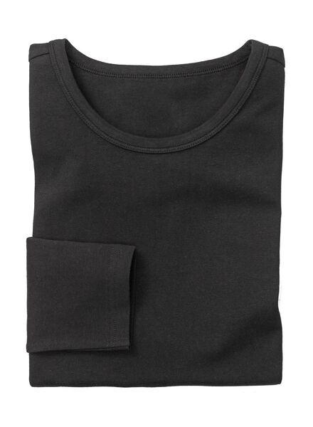 men's slim-fit T-shirt black black - 1000005995 - hema