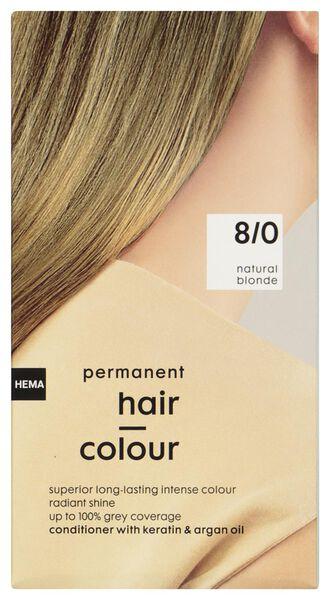 coloration cheveux blond naturel 8/0 - 11050034 - HEMA