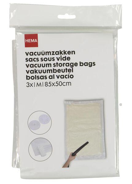 3er-Pack Vakuumbeutel, medium, 85 x 50 cm - 39891031 - HEMA