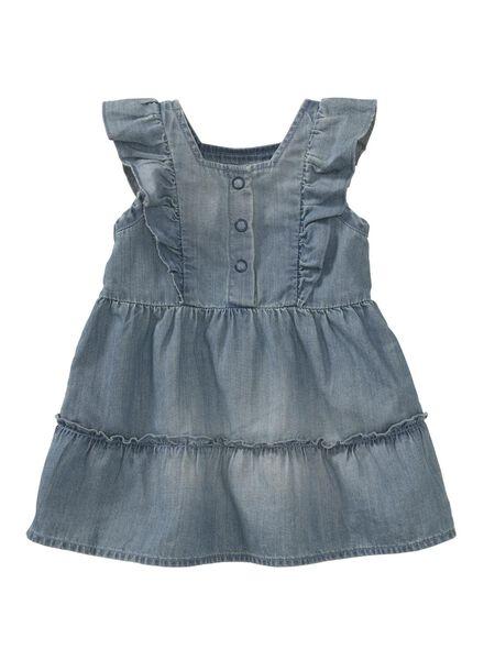 baby dress denim denim - 1000007301 - hema