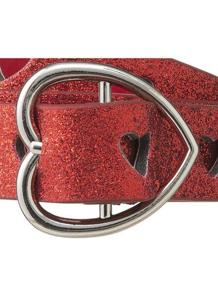 ceinture enfant rouge rouge - 1000009503 - HEMA