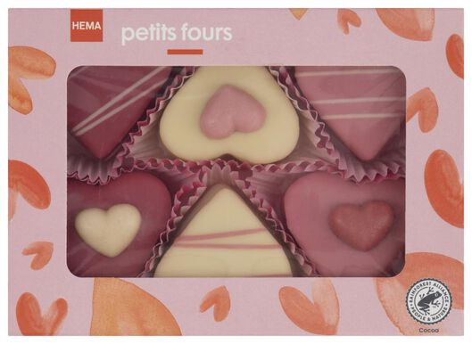 6petits-fours en forme de coeur - 10050403 - HEMA