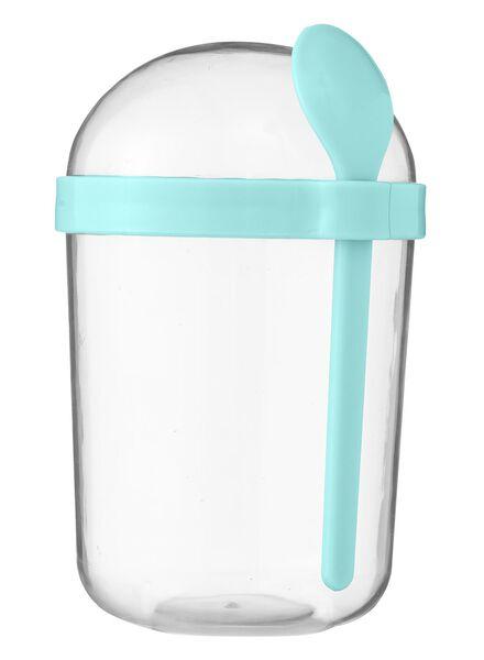 Joghurtbecher, 600 ml, blau - 80630265 - HEMA