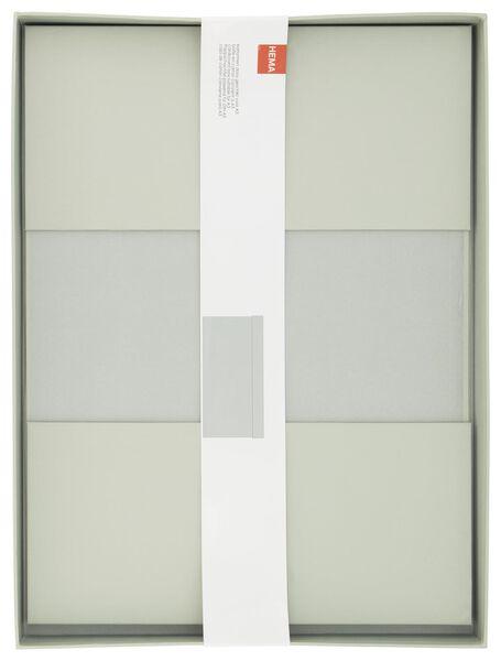 boîte de rangement - A3 - carton - menthe - 39890054 - HEMA