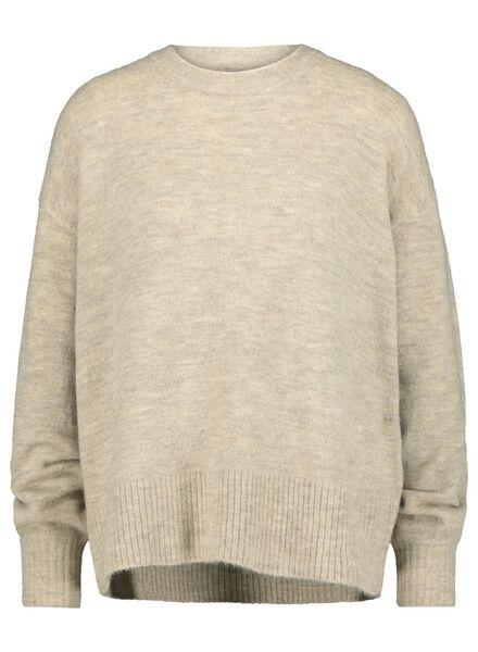 women's sweater cream cream - 1000015462 - hema