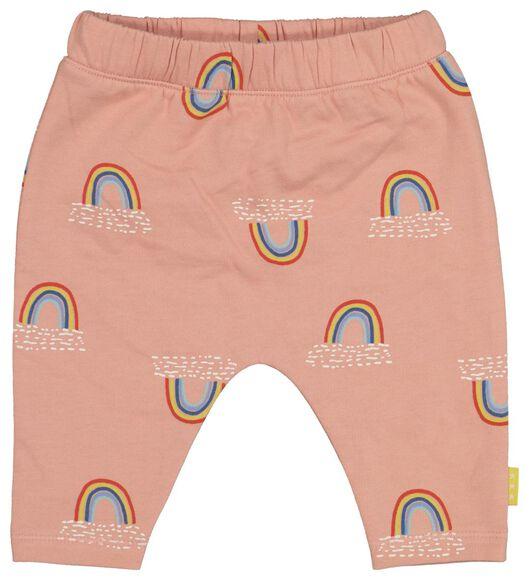newborn sweatpants salmon pink salmon pink - 1000017656 - hema