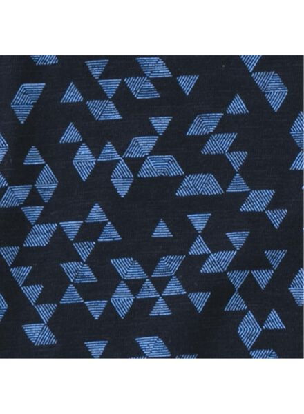 men's T-shirt dark blue dark blue - 1000006129 - hema