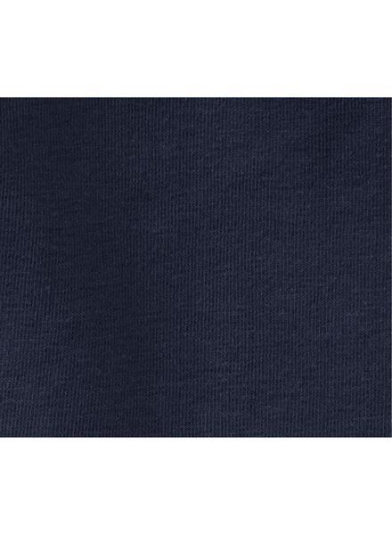 children's leggings short dark blue dark blue - 1000006347 - hema