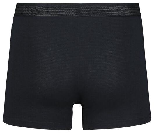 2-pack men's boxer shorts long with bamboo dark blue dark blue - 1000018773 - hema