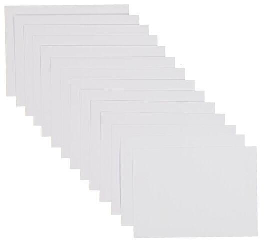 50er-Pack Blankokarten, DIN A6 - 14176310 - HEMA