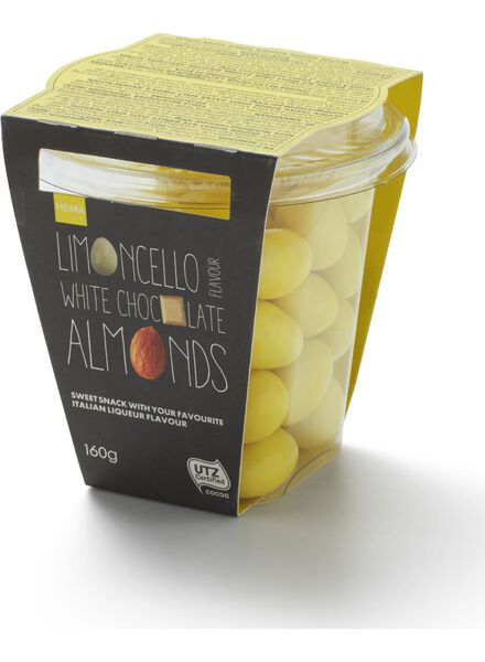 almonds with white chocolate and limoncello - 10663045 - hema