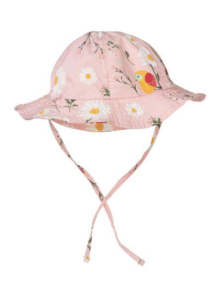 Baby-Hut mit LSF 50 rosa - 1000012807 - HEMA