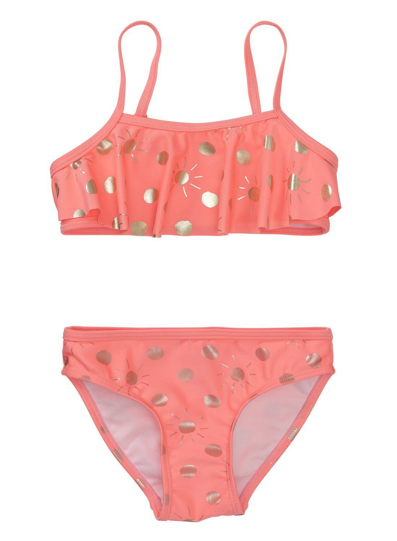 koraal rode bikini