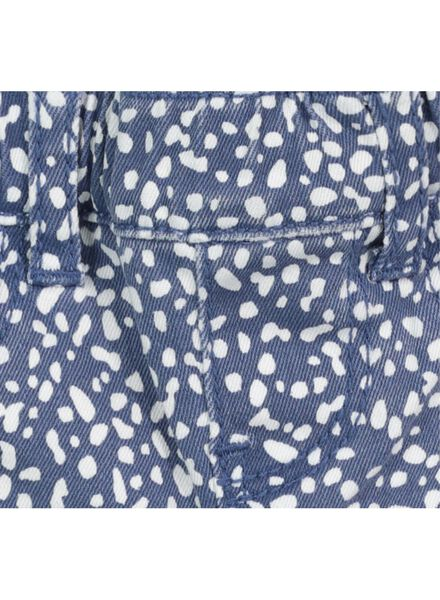 baby treggings dotted blue blue - 1000017447 - hema