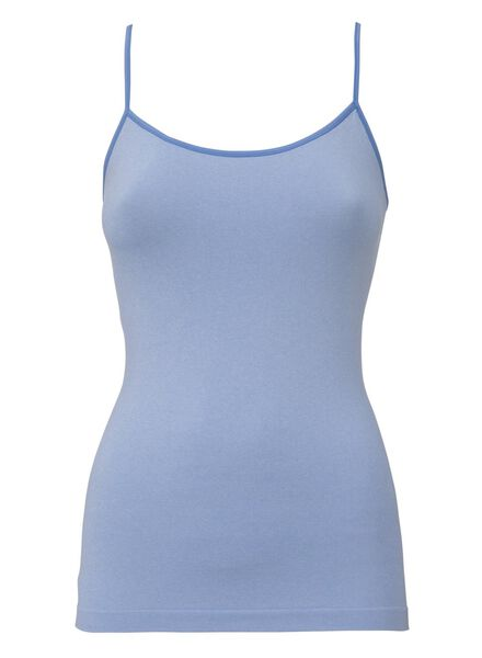 women's seamless singlet light blue light blue - 1000008028 - hema