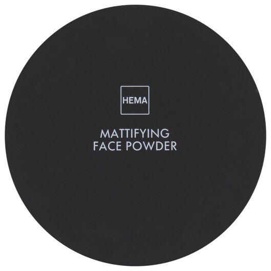 mattifying face powder 24 soft beige - 11290154 - HEMA