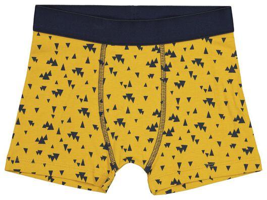 3 boxers enfant jaune jaune - 1000021048 - HEMA