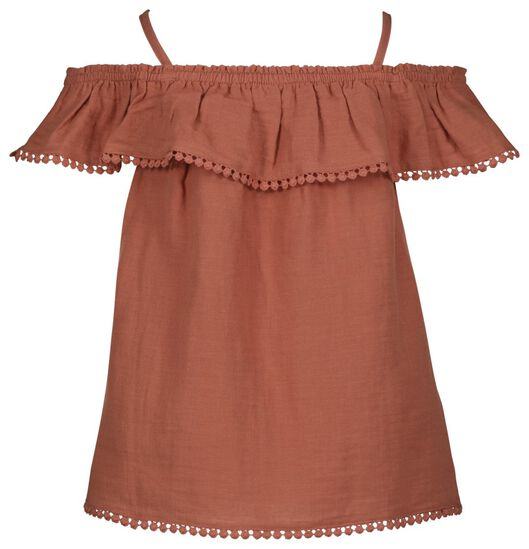 haut enfant marron marron - 1000023808 - HEMA