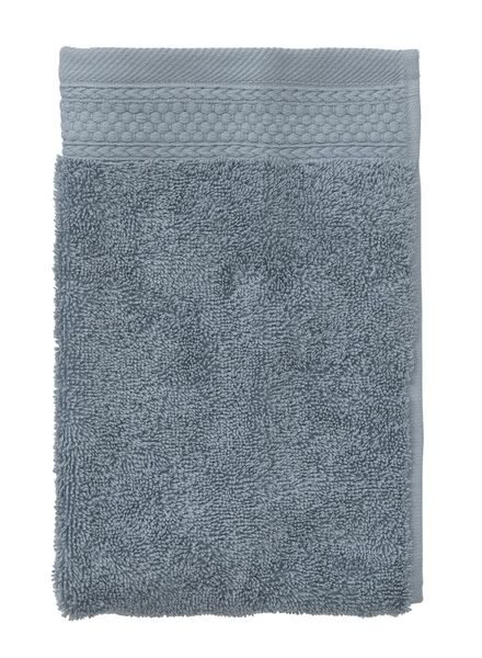 guest towel - 33 x 50 cm - hotel extra heavy - turquoise ijsblauw guest towel - 5220045 - hema