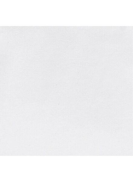 2 t-shirts pour enfant - coton bio blanc blanc - 1000019381 - HEMA