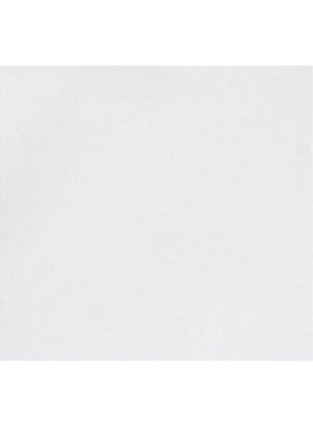 2 t-shirts enfant - coton bio blanc 146/152 - 30729145 - HEMA