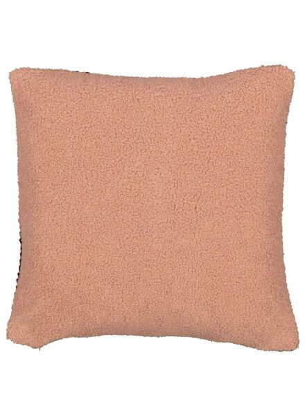 cushion cover - 40 x 40 - structure - pink/red - 7392029 - hema