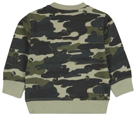 Baby-Sweatshirt, Tarnfleckenmuster grün grün - 1000024424 - HEMA
