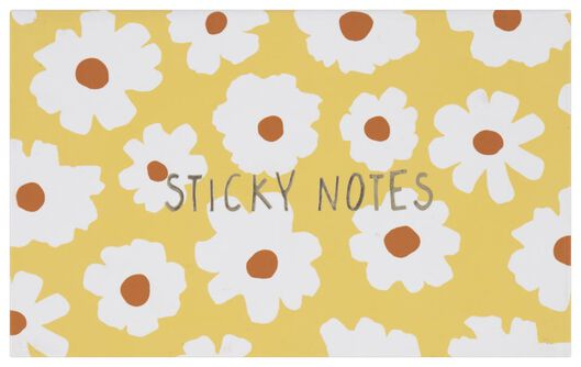 sticky notes in box flowers - 14590364 - hema