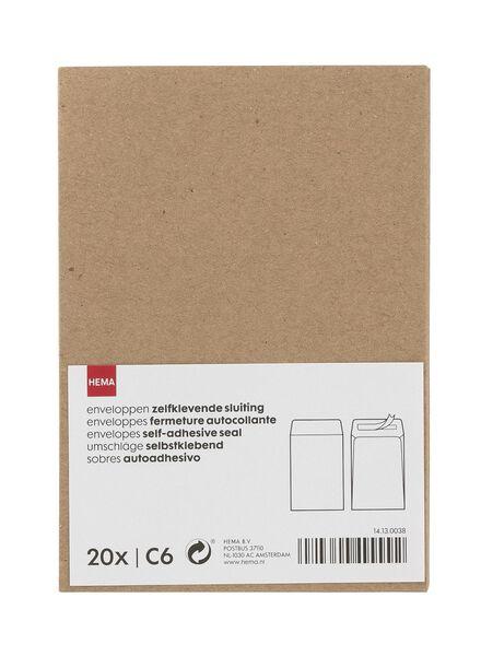 20 envelopes C6 - 14130038 - hema