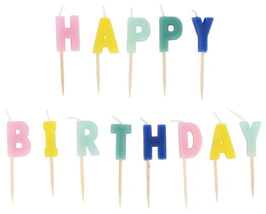 """Tortenkerzen """"Happy Birthday"""" - 14280155 - HEMA"""