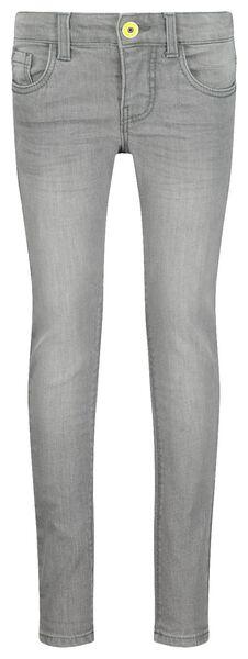 Kinder-Skinnyjeans grau grau - 1000020320 - HEMA