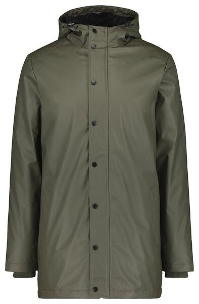 Herren-Jacke mit Kapuze graugrün graugrün - 1000020765 - HEMA