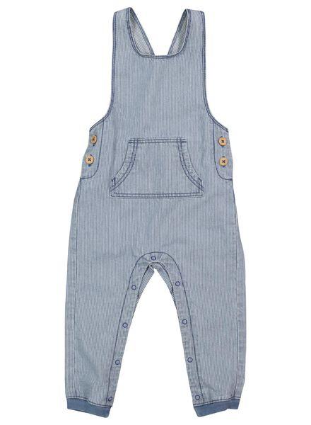 Baby-Latzhose jeansfarben jeansfarben - 1000017517 - HEMA
